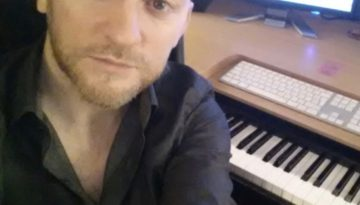 Dean with keyboard